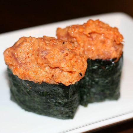 Gunkan spicy tonijn