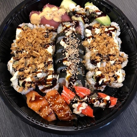sushi schotel 30 stuks