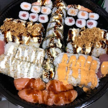 sushi schotel 52 stuks