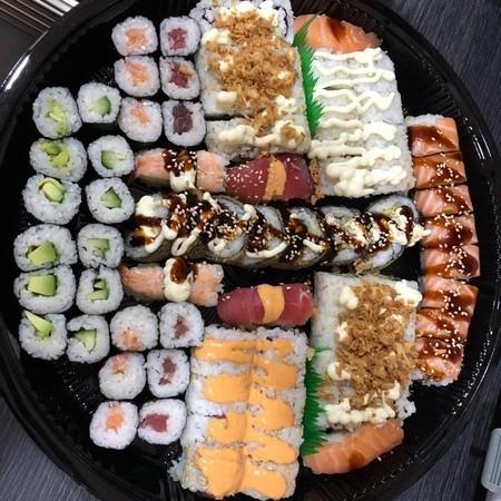 sushi schotel 78 stuks
