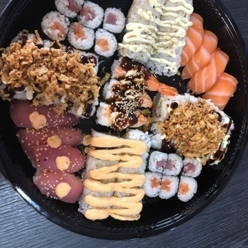 Sushi box mix classic 54 stuks