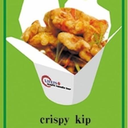 crispy kip (rijst of noodle)